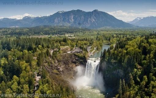 Фото Водопад Сноквалми