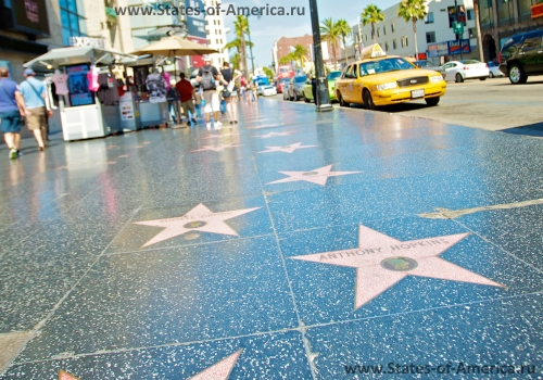 Аллея звезд в Лос-Анджелесе