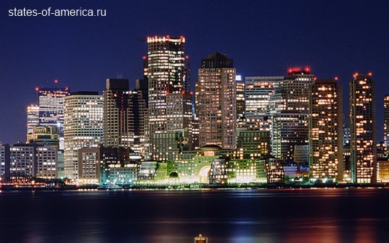 Ночной Бостон