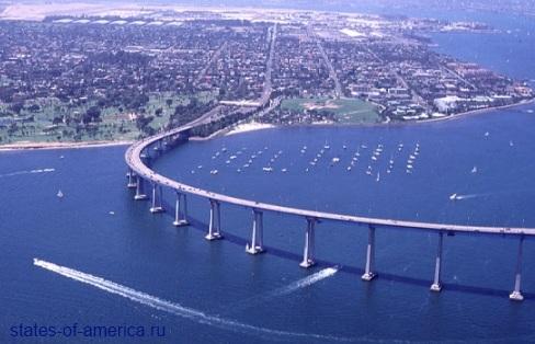 Сан-Диего мост Коронадо