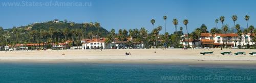 Пляж в Санта-Барбаре