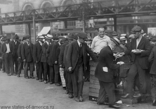 the start of the great depression in america