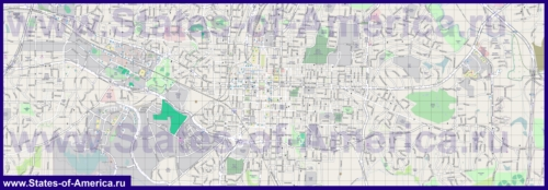 Подробная карта города Роли