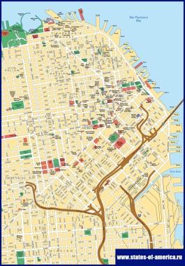 Карта Сан-Франциско