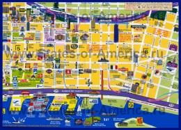 Туристическая карта Сиэтла