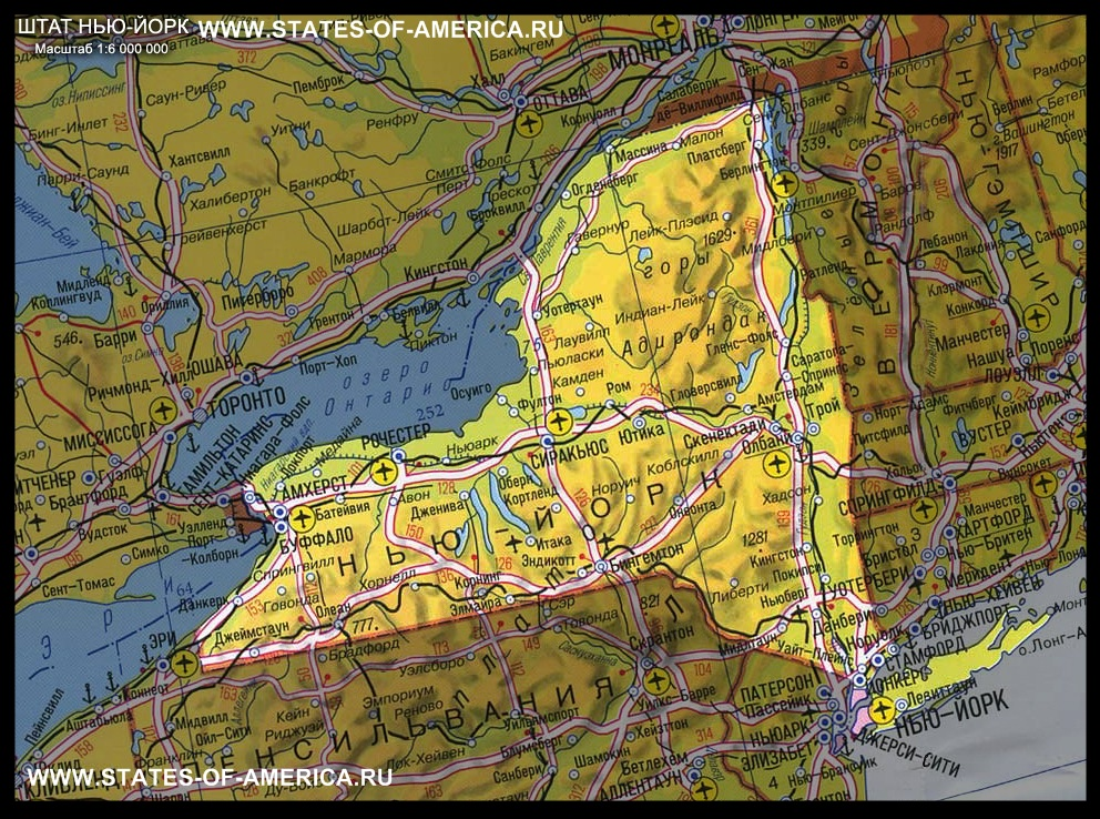 скачать карту нью йорк - фото 7