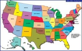 Карты сша подробные карты америки