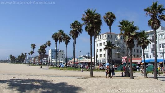 Пляж Venice Beach