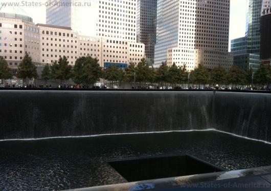 Бассейны-фонтаны Ground Zero