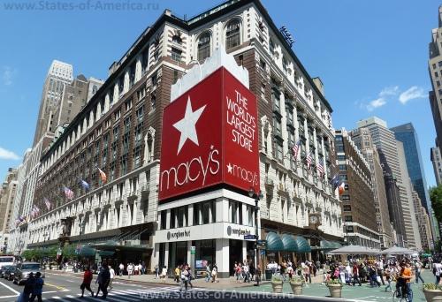 Магазин Macy's в Нью-Йорке