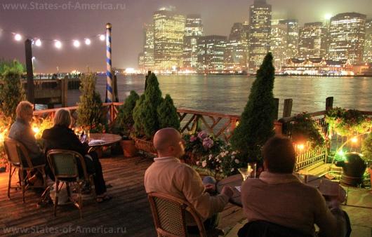 Ресторан The River Cafe в Нью-Йорке