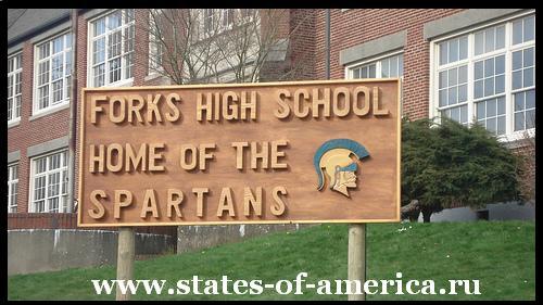 Школа города Форкс